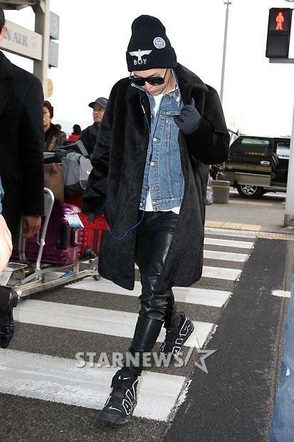 G Dragon 2013 Fashion 지드래곤 공항패...