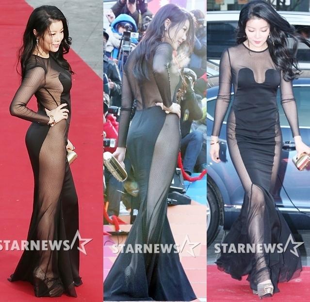 영화제 드레스 논란에 대한 이미지 검색결과