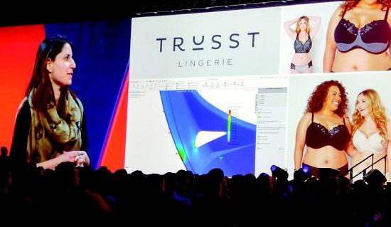 트러스는 3D모델링과 3D프린팅으로 가슴 큰 여성들의 속옷 고민을 해결했다.