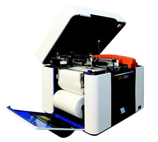 아르크는 A4용지를 재료로 활용하는 3D프린터다.