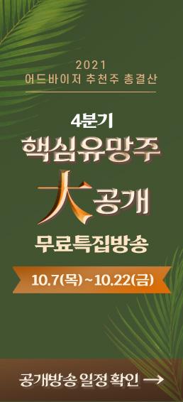 2021 어드바이저 추천주 총결산 4분기 핵심유망주 大공개 무료특집방송