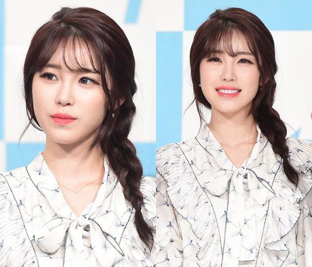 케이-정예인, 심쿵 하트 | 연합뉴스